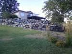 Stacked Rock Walls